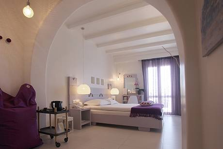Glaros boutique hotel in naxos at saint george beach for Boutique hotel naxos