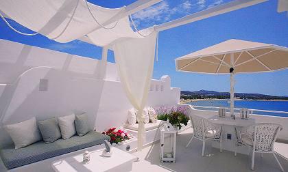 Naxos island naxos greece resort saint george agios for Boutique hotel glaros